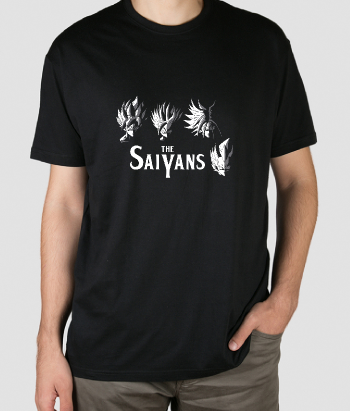Camiseta The Saiyans