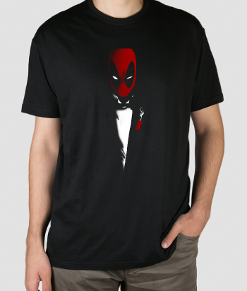 T-SHIRT deadpool scarface