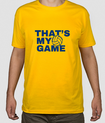 T-shirt sport That's my game