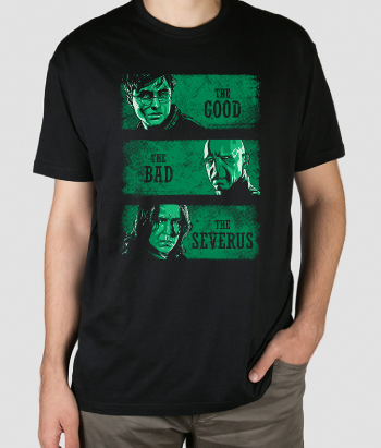 T-shirt Good Bad and Severus