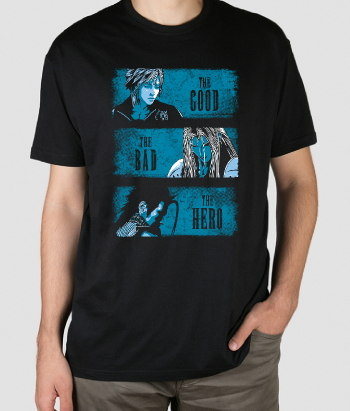 Camiseta The good the Bad and the Hero