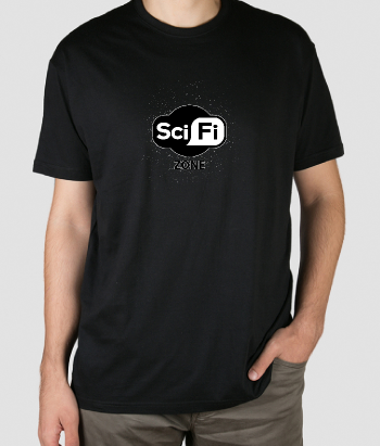 T-shirt scifi zone