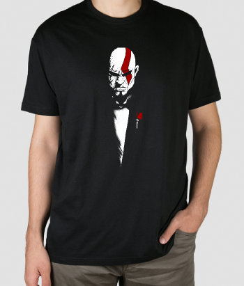 T-shirt Padrinho vs Kratos