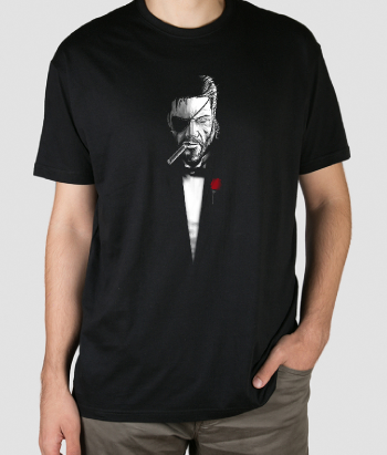 T-shirt scarface sigaar