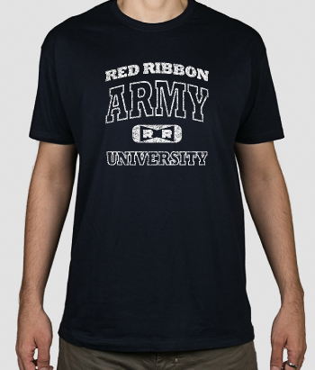 T-shirt red ribbon army