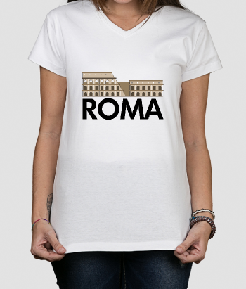 T-Shirt original Coliseu Roma