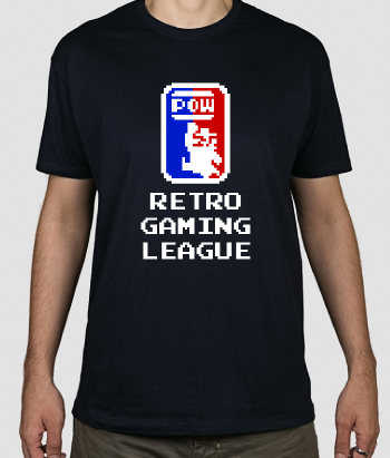 Camiseta Retro gaming league