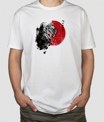 T-shirt Anime Red Sun Guts
