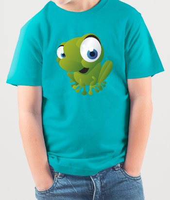 Kinder T-Shirt Frosch