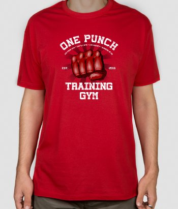 Camiseta One punch Gym
