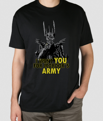 T-shirt mordor´s army