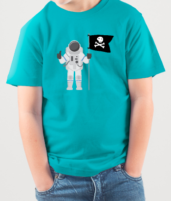 T-shirt Piraten Astronaut
