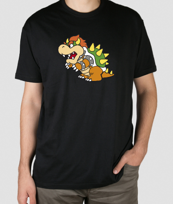 T-shirt retro Bowser