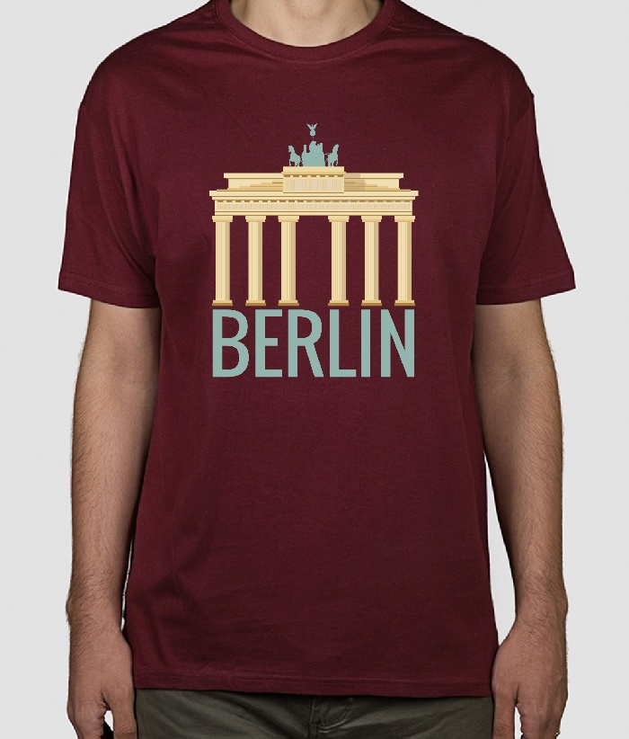 t shirt berlin dezuu. Black Bedroom Furniture Sets. Home Design Ideas