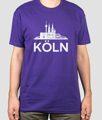 T-Shirt Skyline Köln