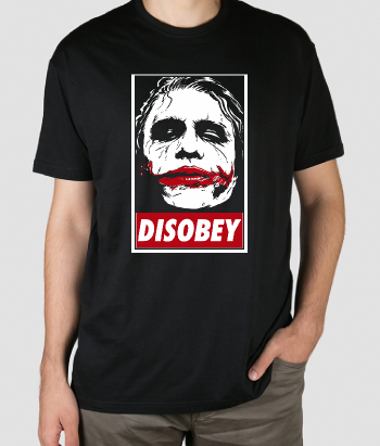 T-shirt Obey vs Joker