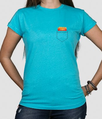 T-shirt tasca patate fritte
