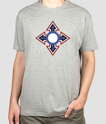 T-shirt retro cruz mod