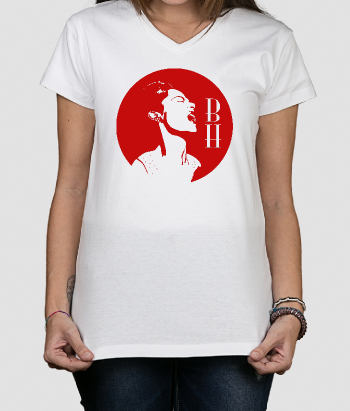 T-shirt zingende Billy Holiday