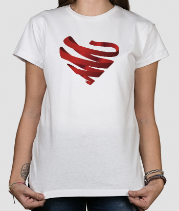 Tshirt solidale cuore Aids