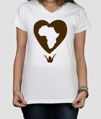 Maglia solidale Amore Africa