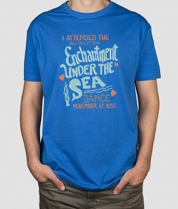 T-shirt scritta enchantment under the sea