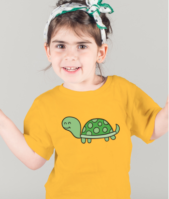Cartoon Turtle T-Shirt