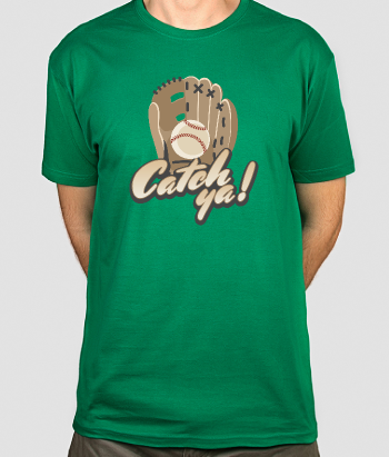 Camiseta deportes Catch Ya!