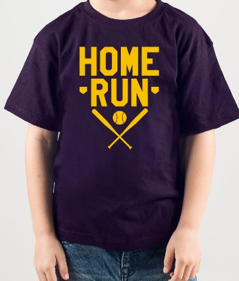 T-Shirt Basketball Home Run