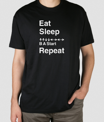T-shirt eat sleep
