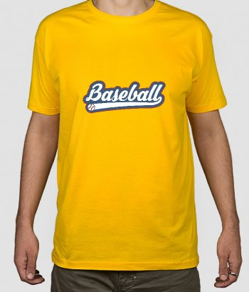 T-Shirt Baseball Logo