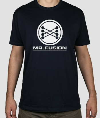 T-shirt cinema Mr Fusion