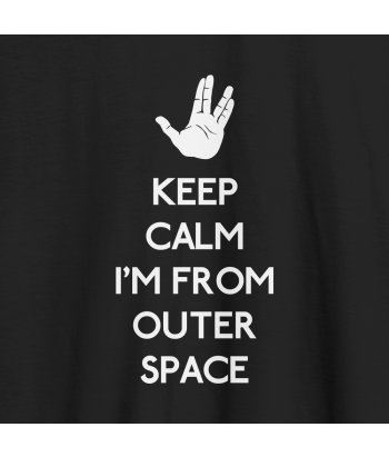 Camiseta Keep outer space