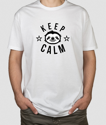 Maglietta Keep calm