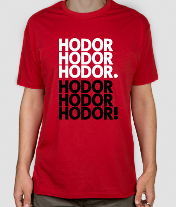 Camiseta Get over it Hodor