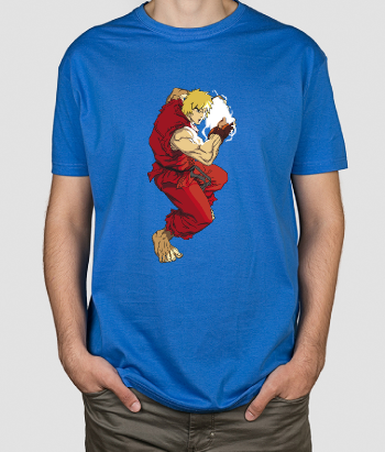 Camiseta friki Ken Street Fighter