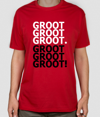 Camiseta Get over it Groot