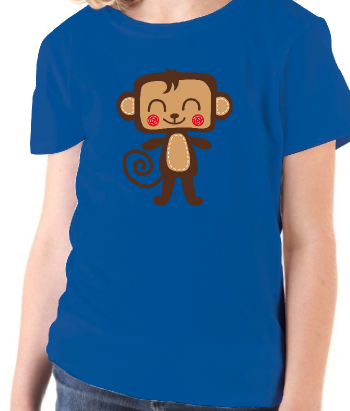 Cartoon Monkey T-Shirt