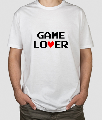 T-shirt Pixel Game Lover