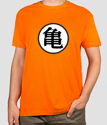 T-shirt logo Dragon Ball Kame