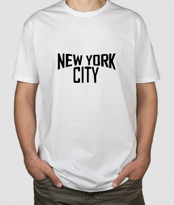 Musik T-Shirt New York John Lennon