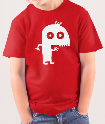T-shirt kinderen monstertje