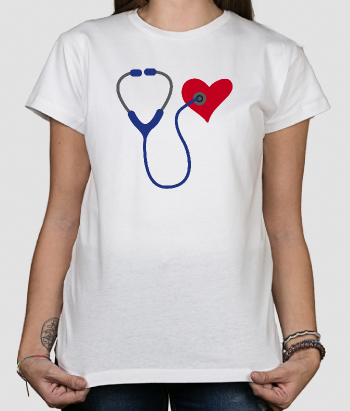 Stethoscope Heart T-Shirt