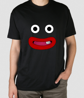 T-shirt smiley face