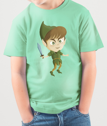 T-shirt kinderen Peter Pan