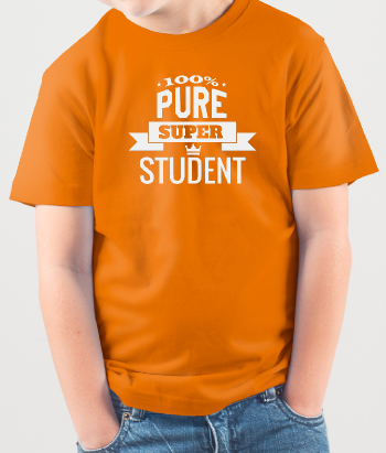 T-shirt 100% Pure Super Student