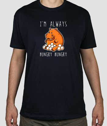 Camiseta Hungry hungry