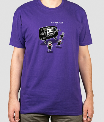 T-shirt monster cassette