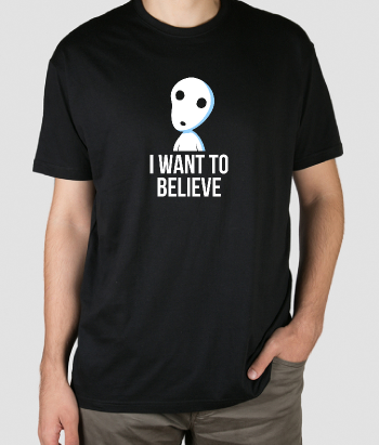 Camiseta Believe in spirits