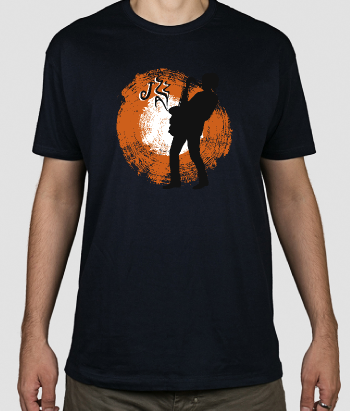 Camiseta saxo jazz